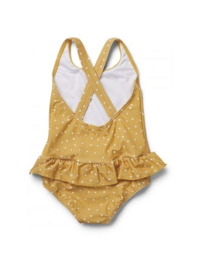 Liewood - Amara Swimsuit - Confetti Yellow Mellow Mix