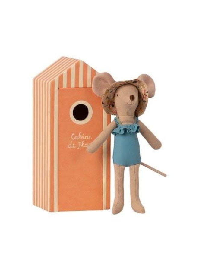 Beach Mice - Mum in Cabin de Plage