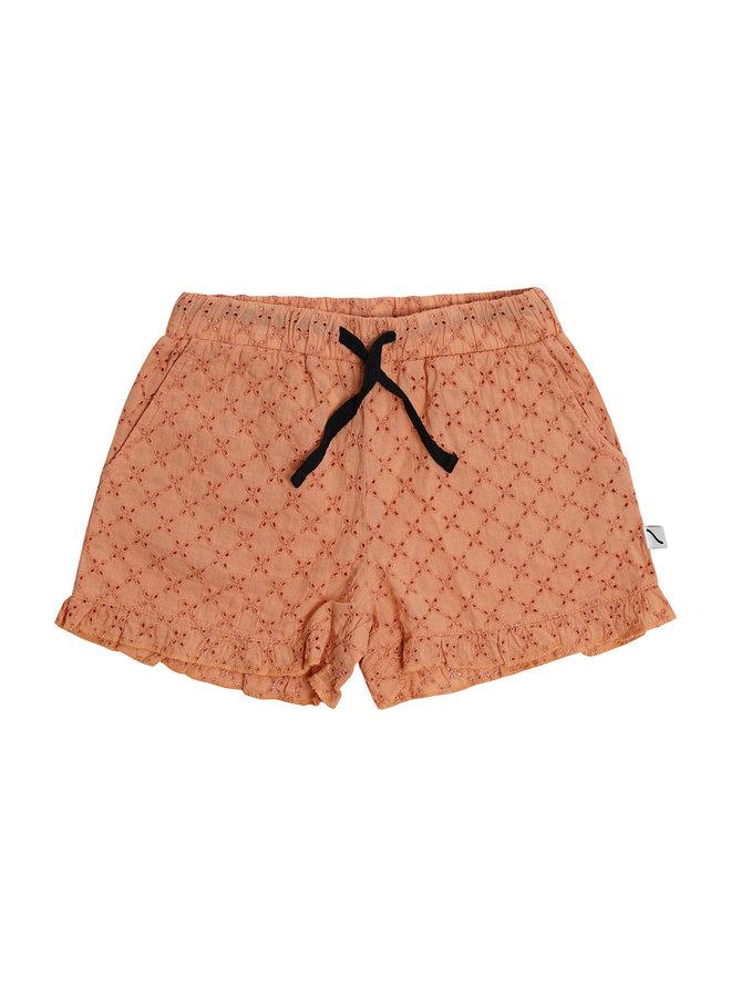 CarlijnQ  - Broderie - Ruffled Shorts