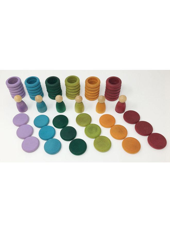 Grapat - 15-102-B Nins, rins & coins - No Basic colours