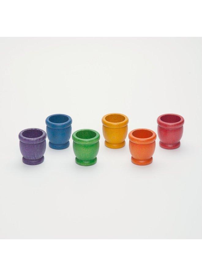 Grapat - 15-120 6 x mates (6 colors)