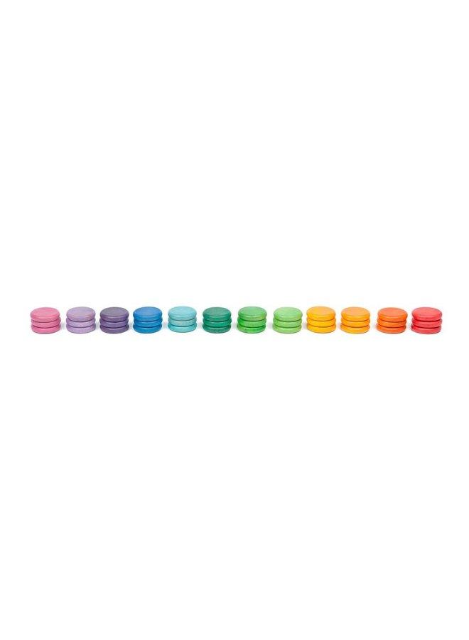 16-146 36 x coins (12 colors)