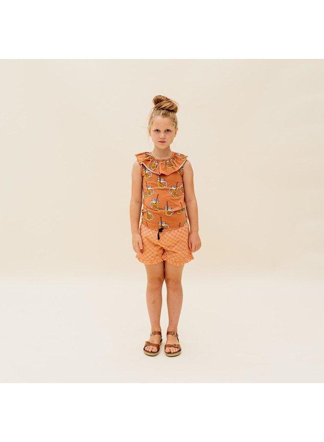 Broderie - Ruffled Shorts