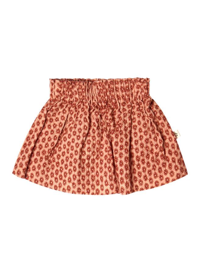 Broderie Terra Skirt - 350 - Peach