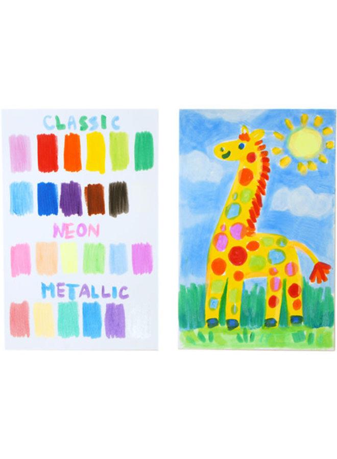Ooly - Chunkies Paint Sticks - Variet Pack