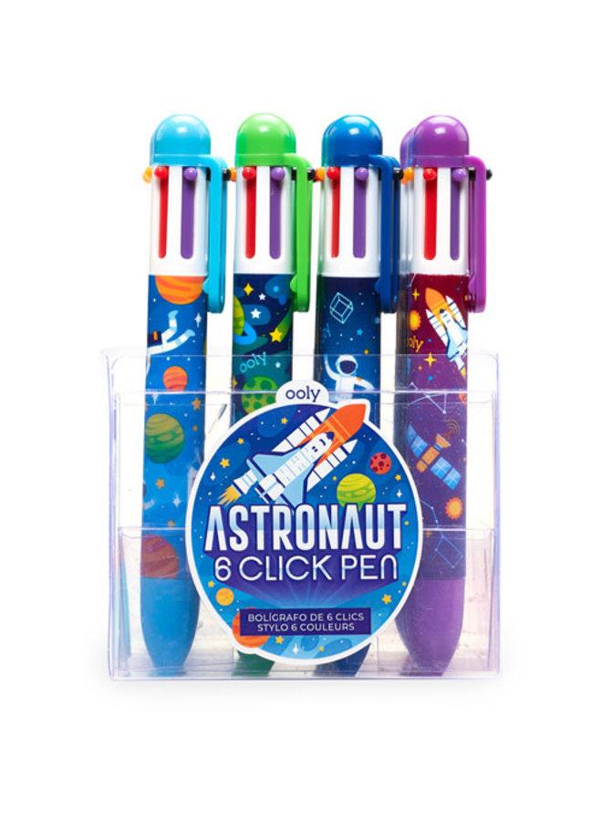 Ooly - 6-kleurenpen 'Astronauts'