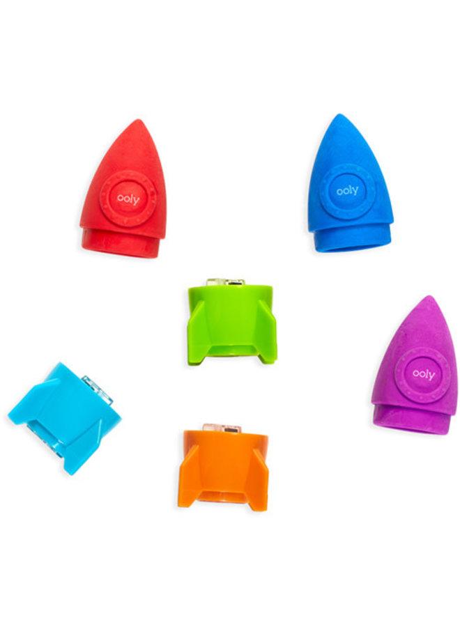 Ooly - Blast off - Gum en puntenslijper