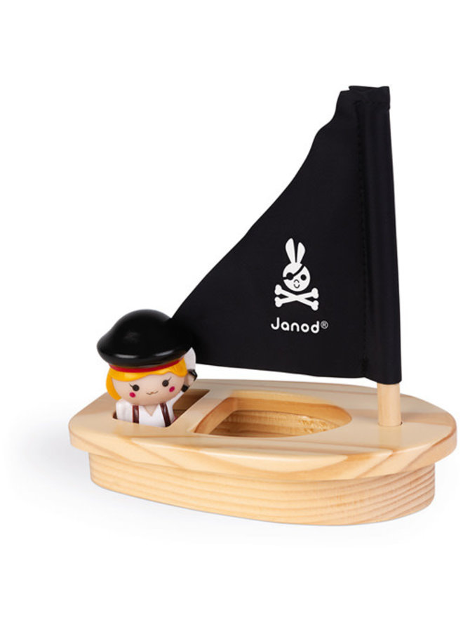 Badspeelgoed - Kapitein Melo & Boot