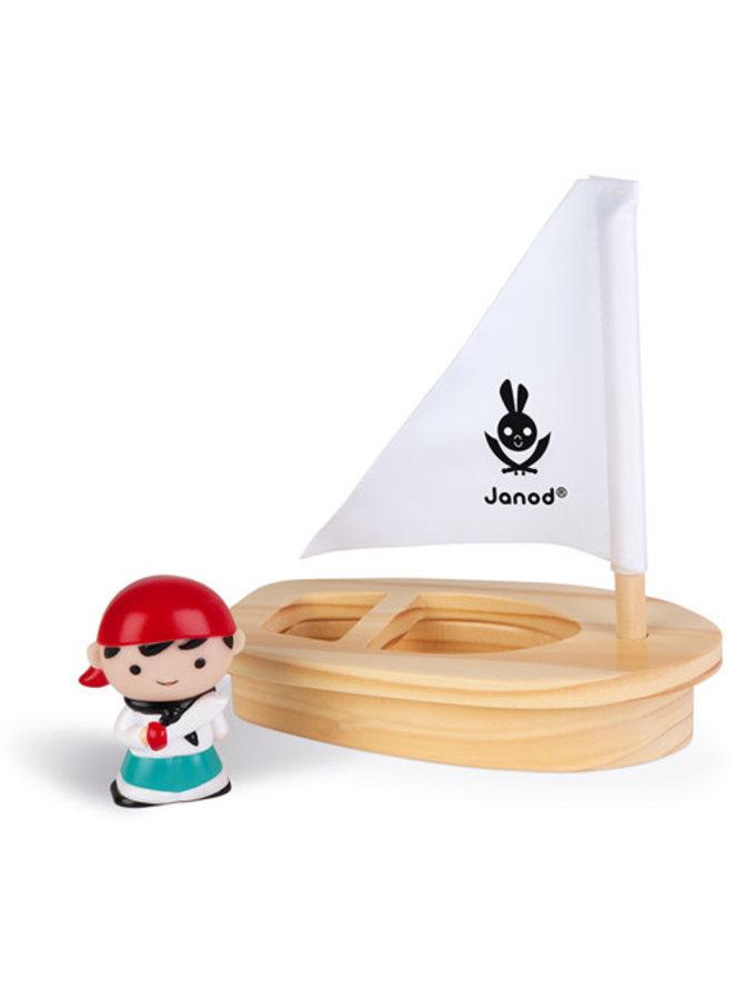 Janod - Badspeelgoed - John Mouss & boot