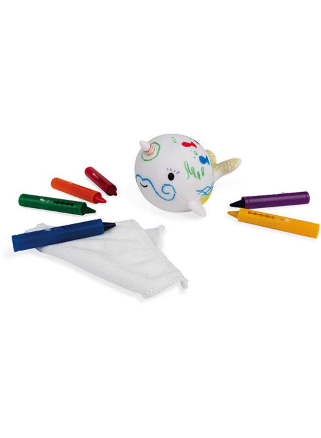 Badspeelgoed - Narwal kleuren