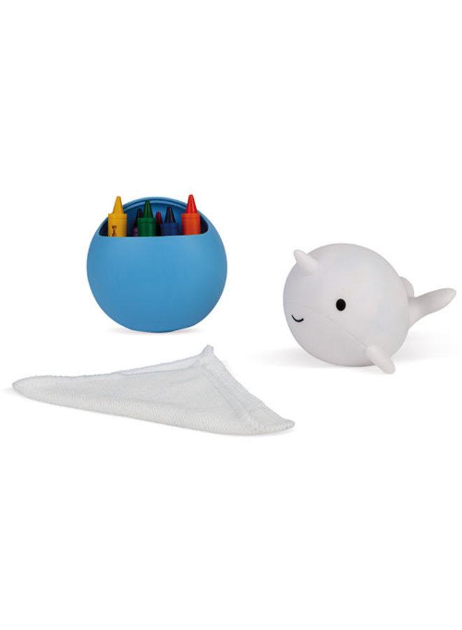 Janod - Badspeelgoed - Narwal kleuren