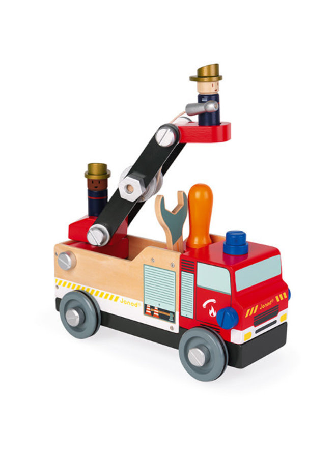 Janod - Brico'kids - Brandweerauto