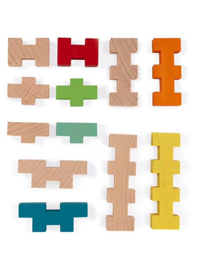 Janod - Blokken - Constructie (100)