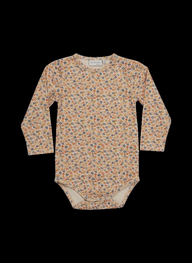 Blossom Kids- Body long sleeve - Aquarel Flower
