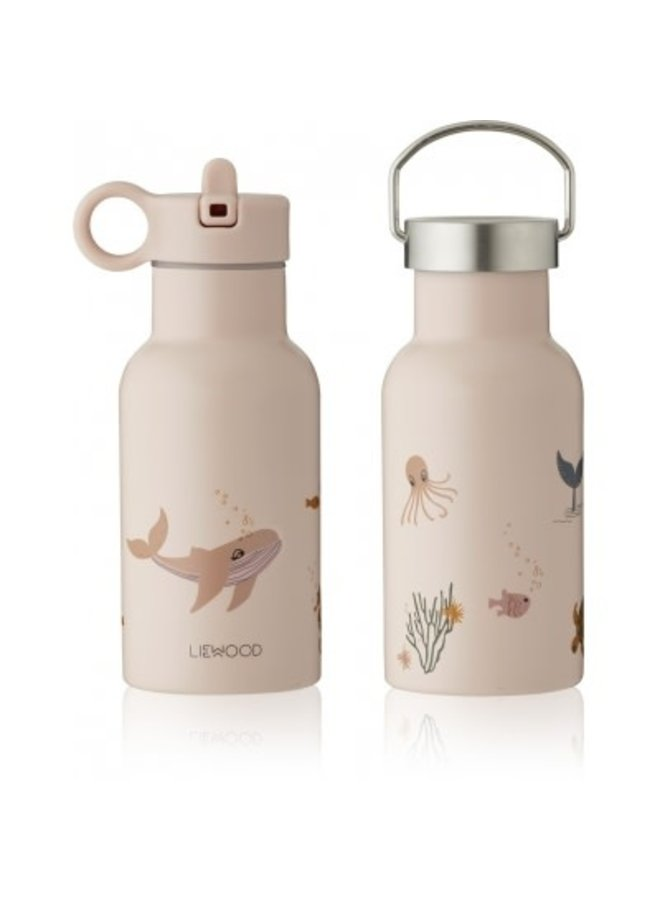 Anker Water Bottle - Sea Creature Rose Mix