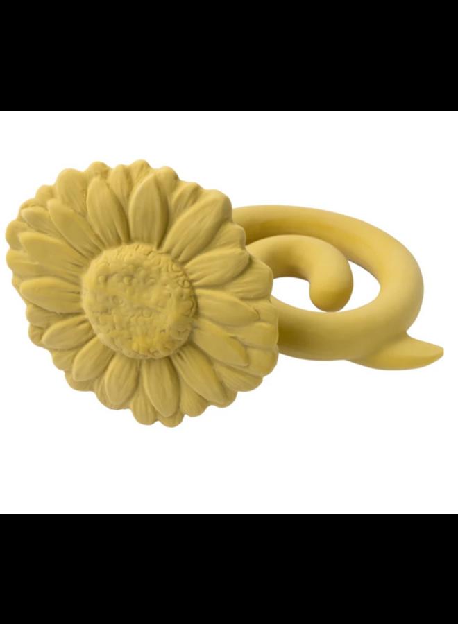 Teether Sunflower - Yellow