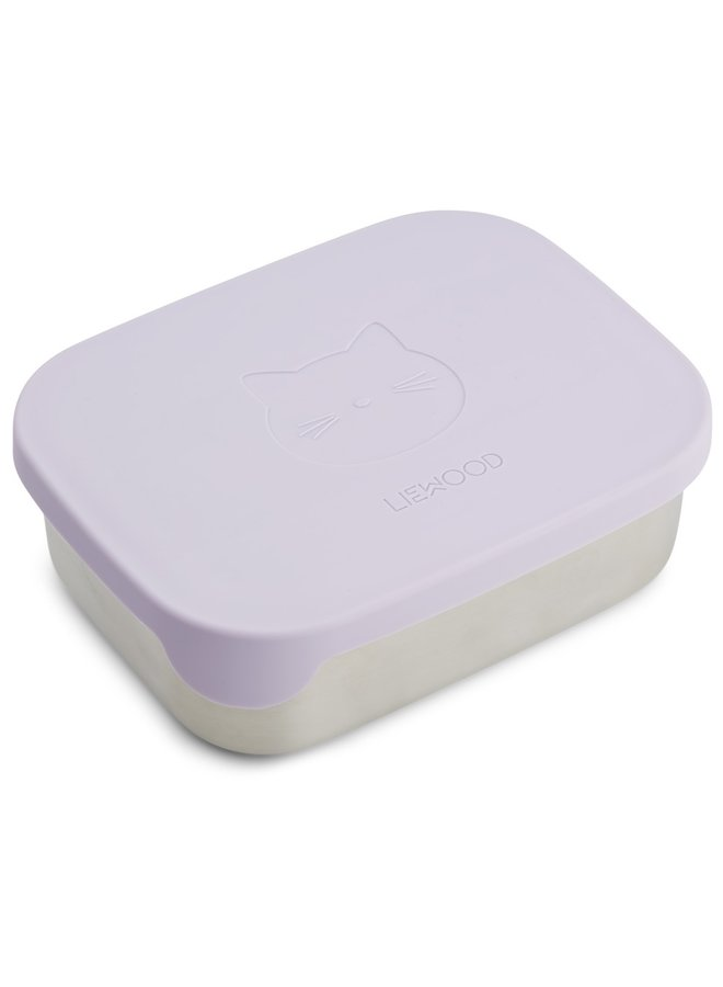 Liewood - Arthur Lunchbox - Cat Light Lavender