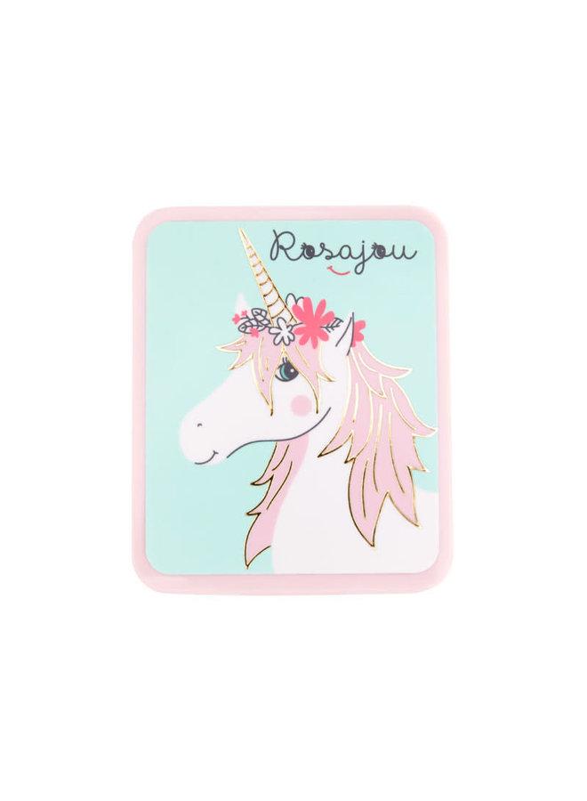Blush in cardboard case - Rose