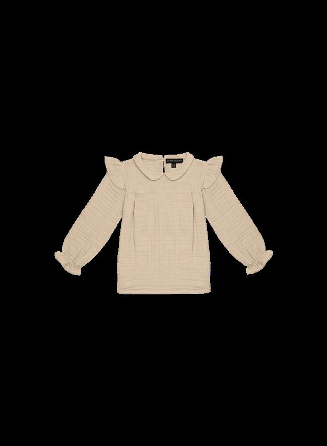 Collar Tunic - Oatmeal