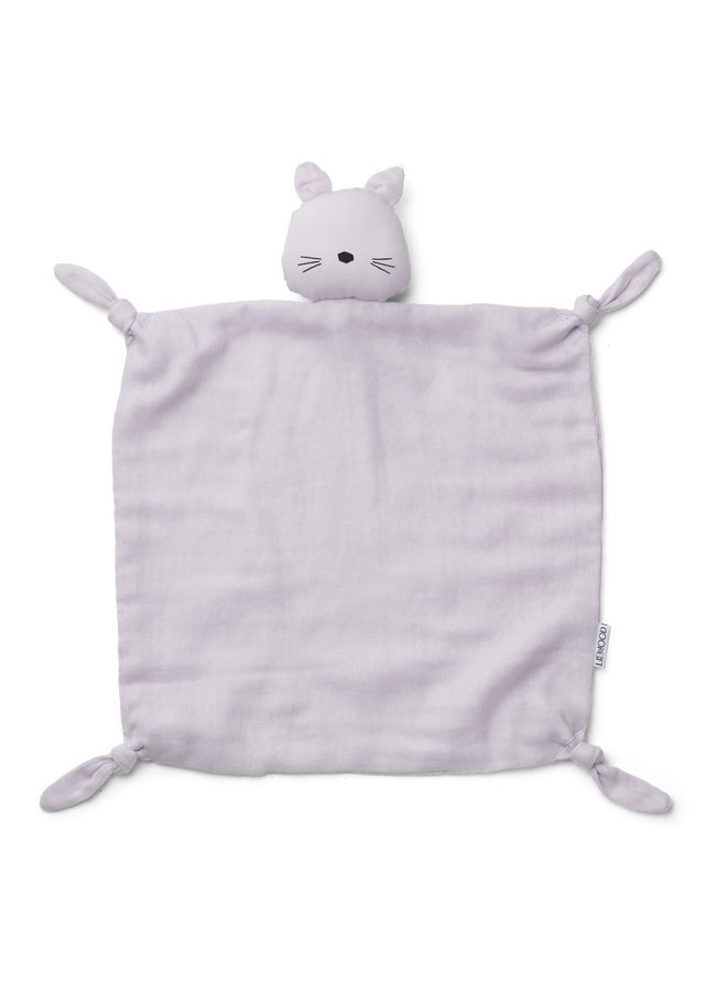 Agnete - Cuddle Cloth - Cat Light Lavender