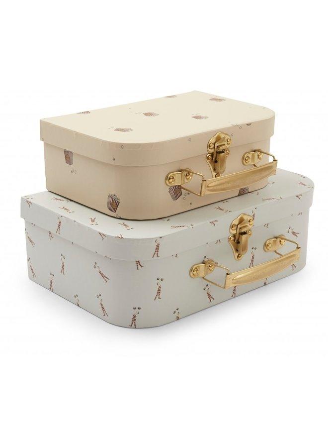 Konges Sløjd - 2 Pack Luggage - Strong man/Popcorn