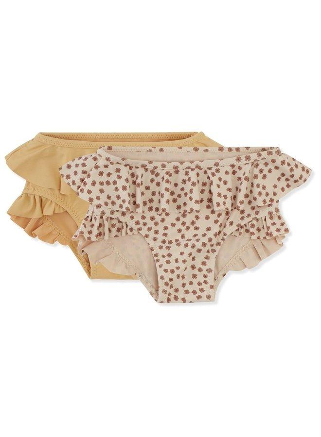 2-pack Bikini Pants - Buttercup Rose/Orange Sorbet