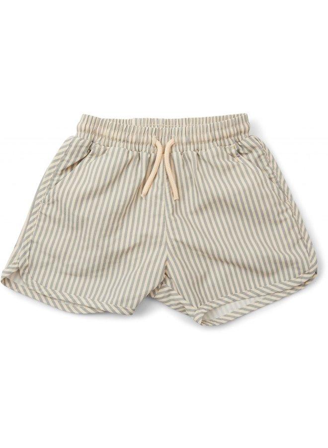 Konges Sløjd Aster Boy Swimpants - Light Blue Stripe