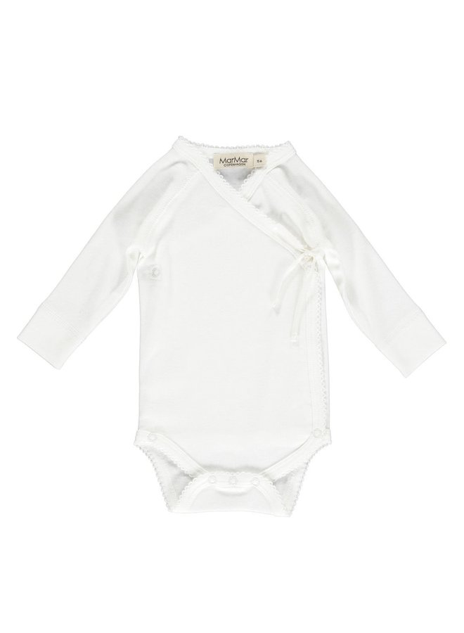 MarMar Copenhagen - Body LS, Belita - Body - Gentle White - 0101 - Basic