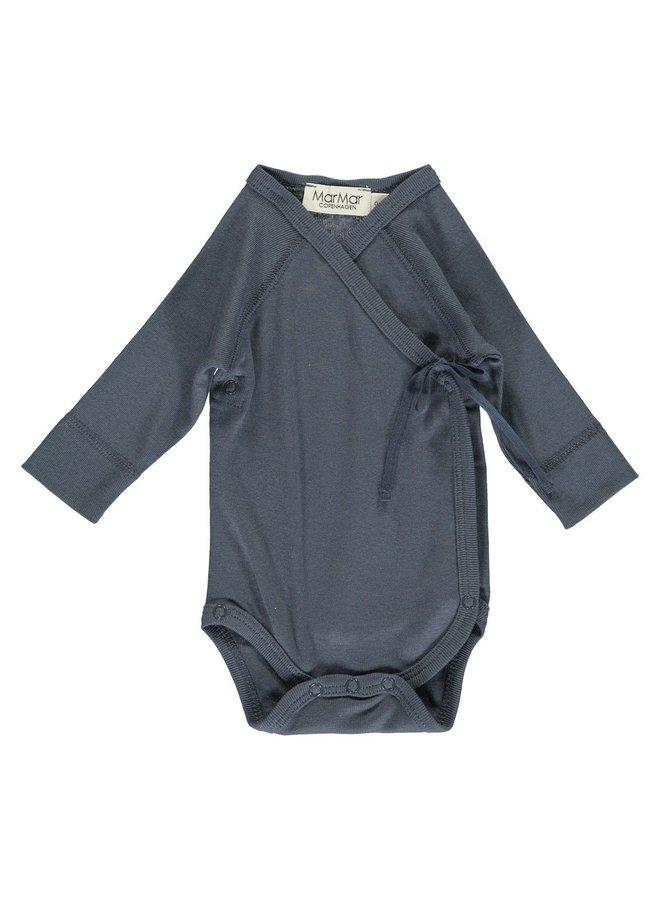 Body LS, Belita - Body - Blue - 0452 - Basic