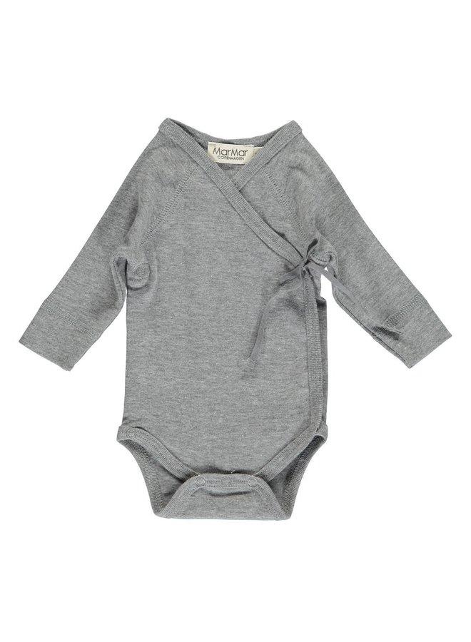 Body LS, Belita - Body - 0602 - Grey Melange