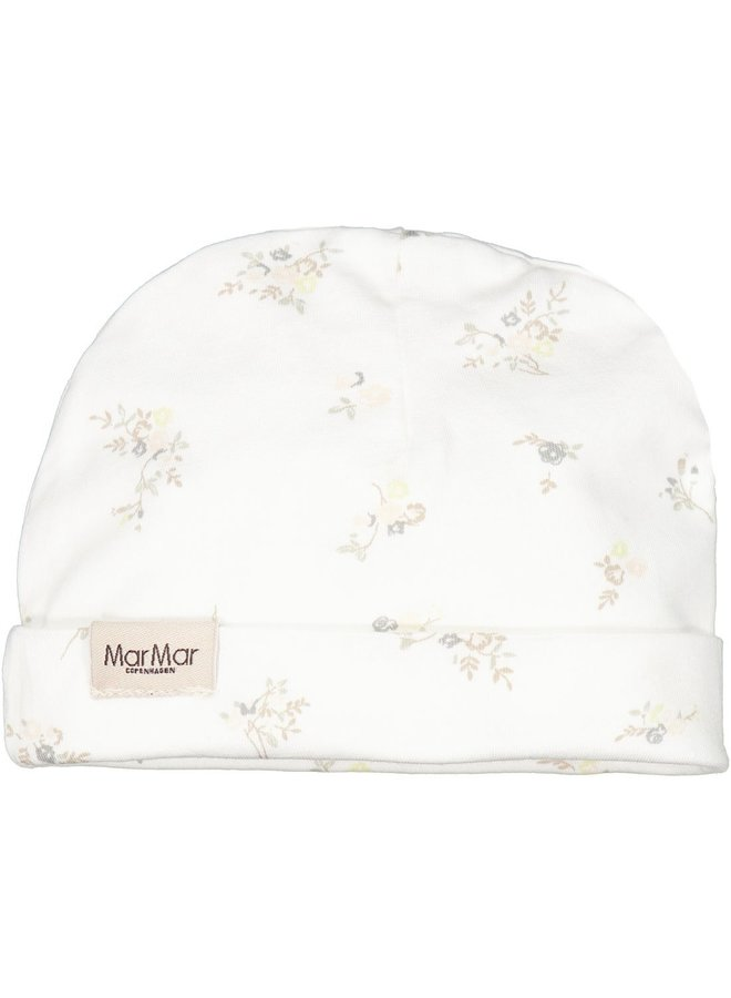 Aiko, Modal Smooth Print, Hat - Rose Bouquet - 1223