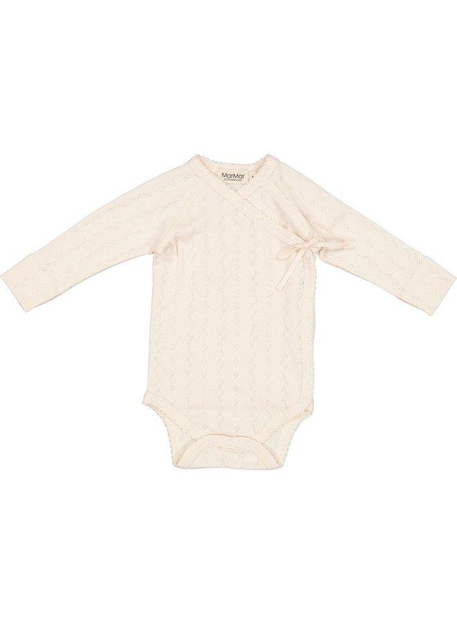 MarMar Copenhagen - Body LS, Belita - Body Pointelle - Delicate Rose - 0383