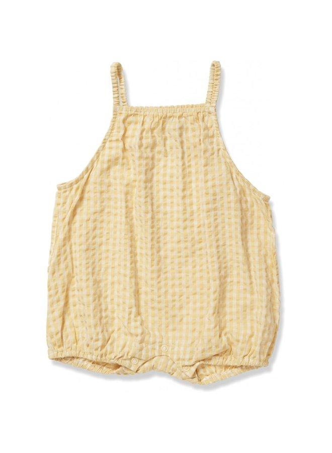 Acacia Frill Romber - Yellow Check