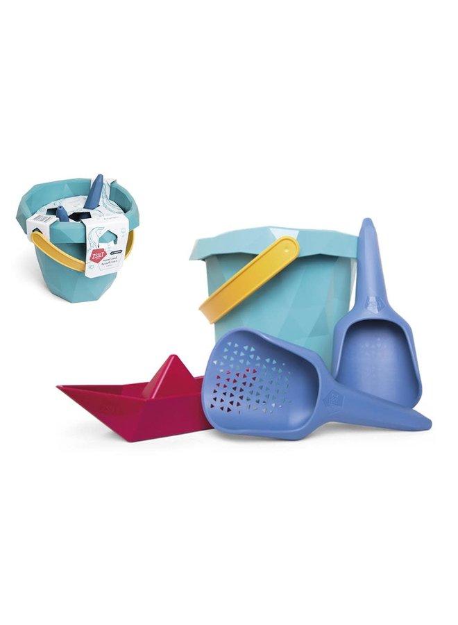 Bucket, Sieve, Shovel & Boat