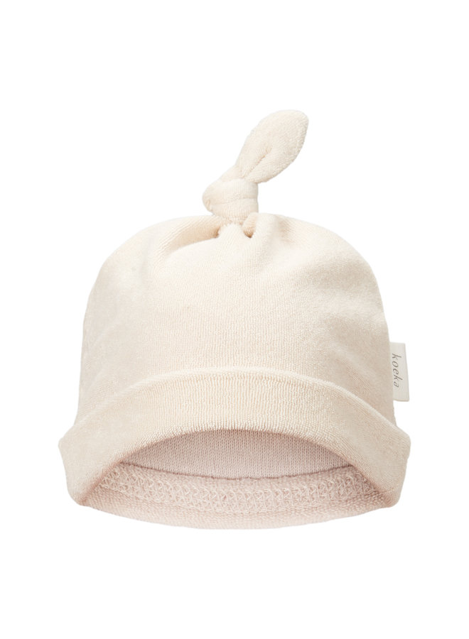 Baby mutsje - Royan - Warm White