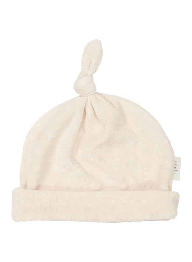 Koeka - Baby mutsje - Royan - Warm White