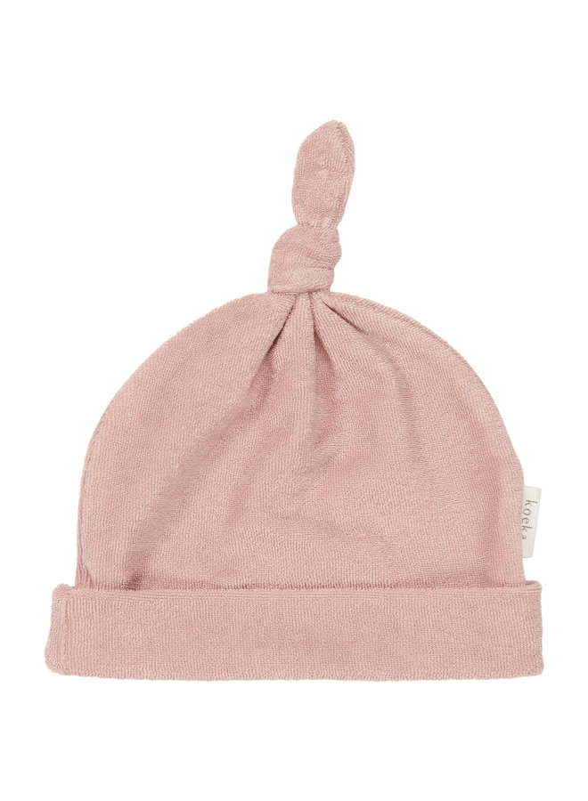Koeka - Baby mutsje - Royan - Old Pink