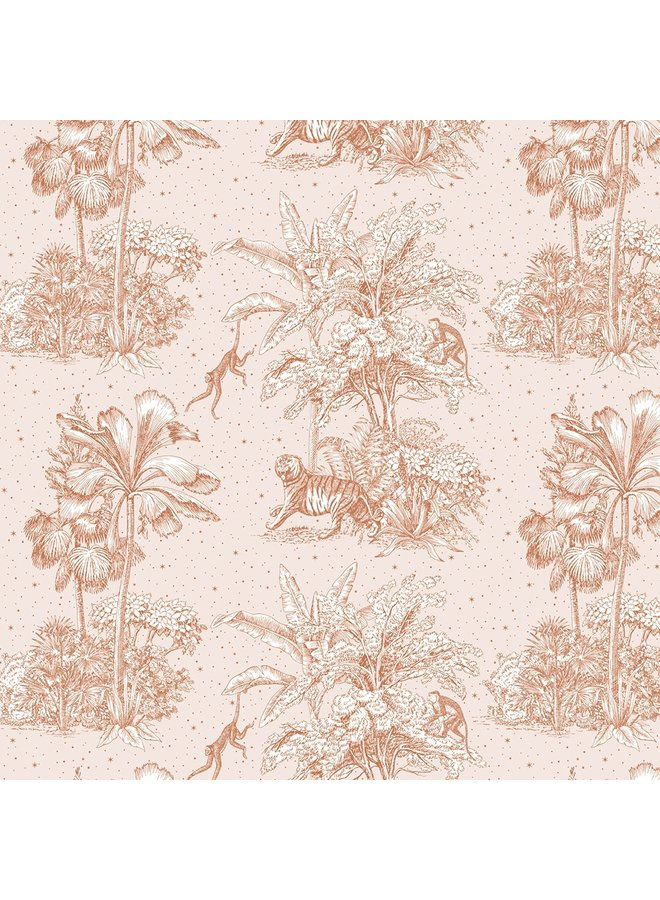 May and Fay - Behang - Jungle Dream Beige