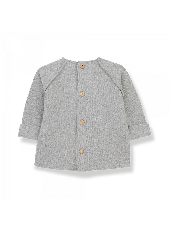1+ in the family - Recycled Extra Soft Fleece Pierre - Grey