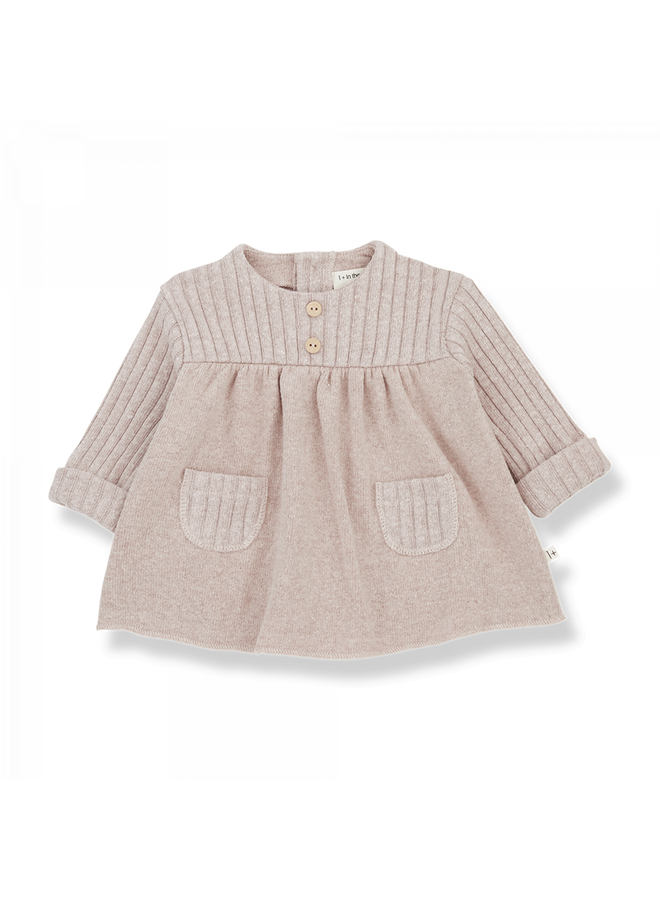 1+ in the family - Recycled Extra Soft Fleece Cintia - Nude