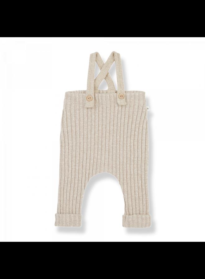 Recycled Rib Fleece Anouk - Cream