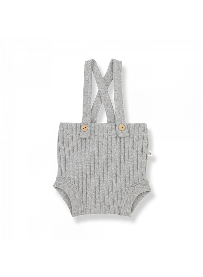 1+ in the family - Recycled Rib Fleece Cecile - Grey