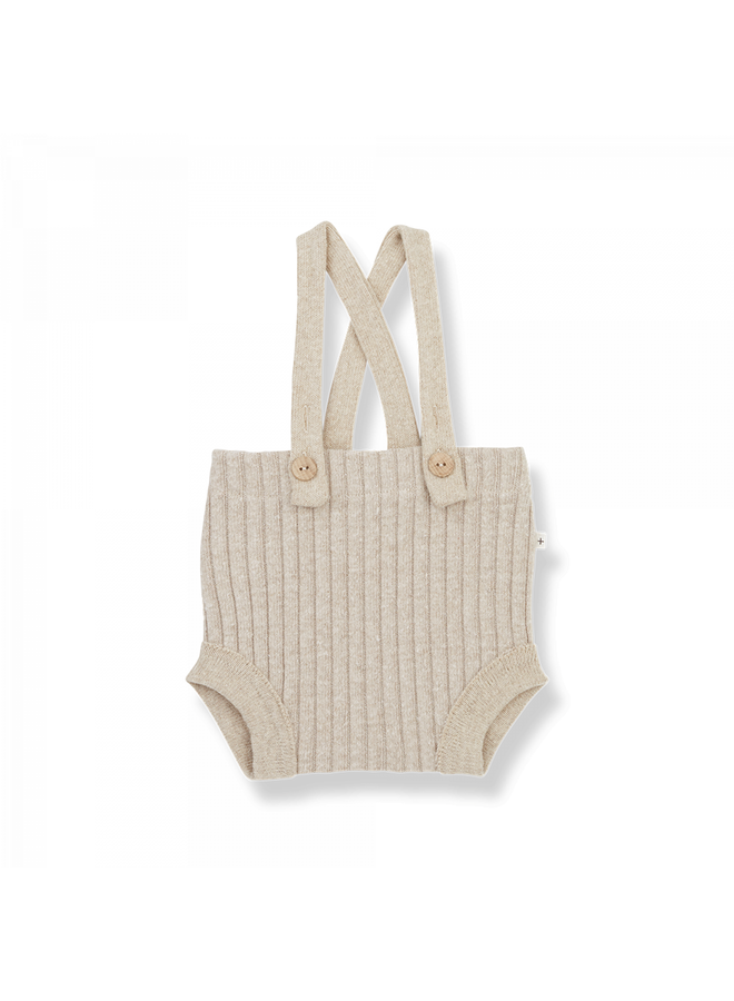 1+ in the family - Recycled Rib Fleece Cecile - Cream