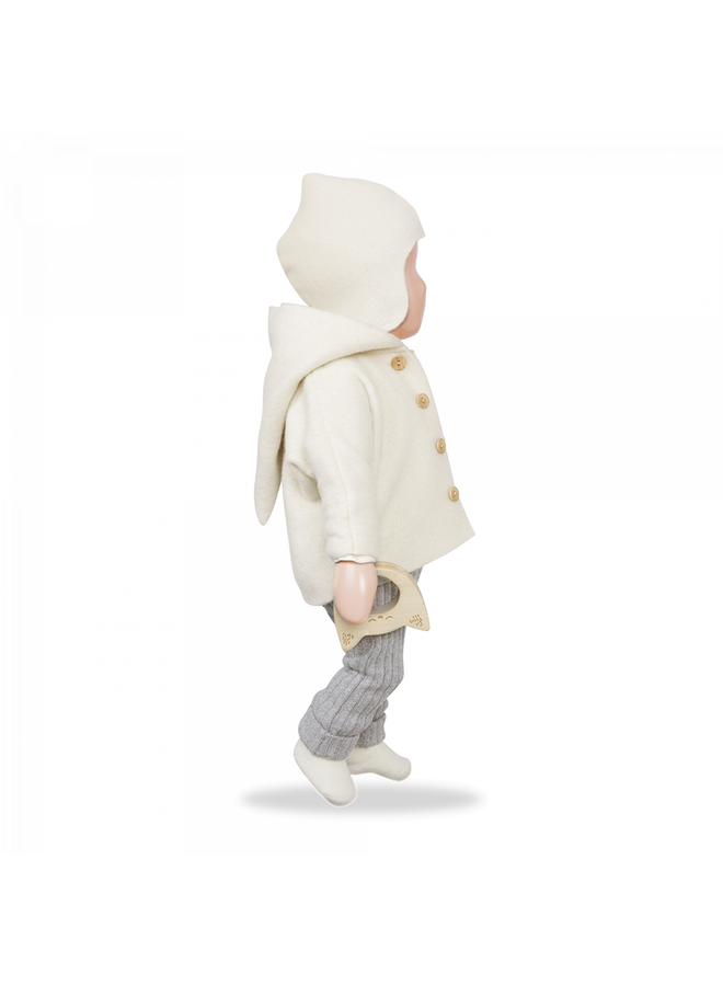 1+ in the family - Recycled Rib Fleece Gerome - Grey