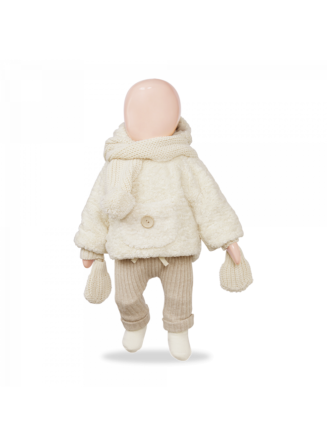 1+ in the family - Recycled Rib Fleece Gerome - Cream