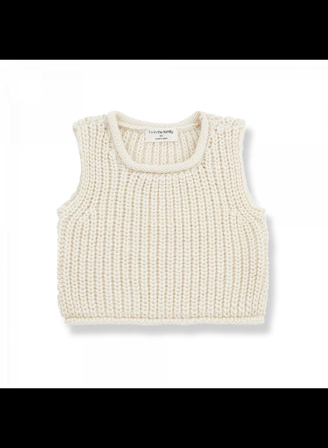 Newborn Knit Gabriel - Ecru