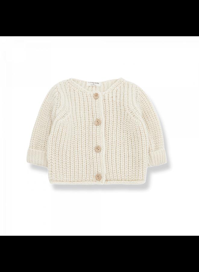 Newborn Knit Rea - Ecru