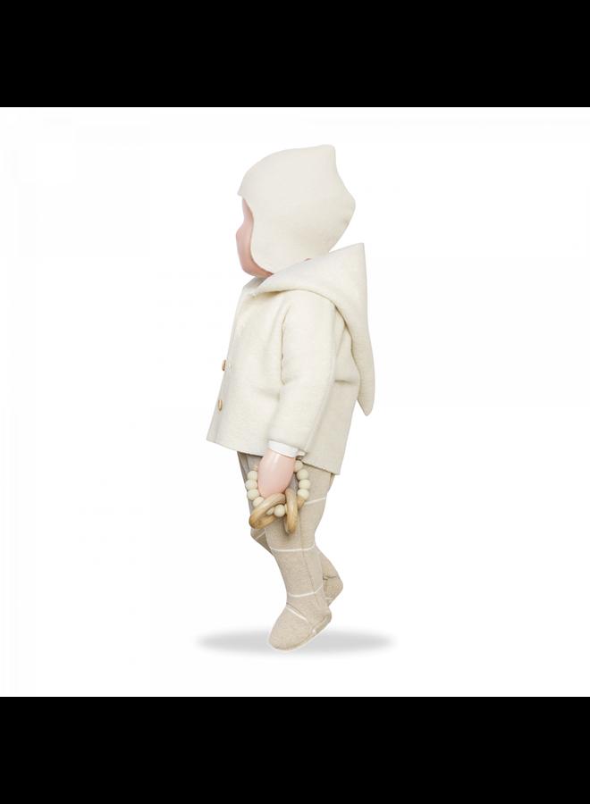 1+ in the family - Cotton Bamboo Polar Fleece Tanit - Ecru