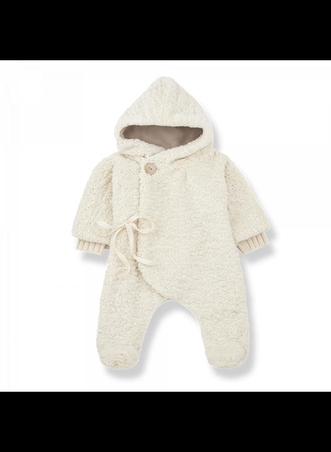 Newborn Furry Chantal - Ecru