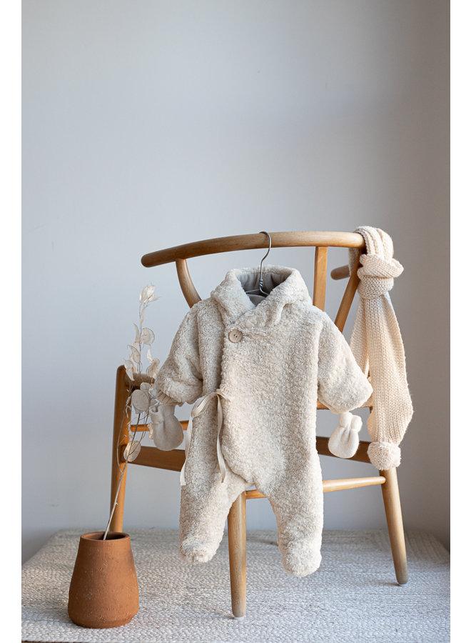 1+ in the family - Newborn Furry Chantal - Ecru